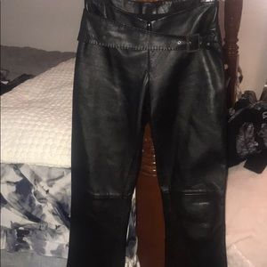 Cache Leather Pants